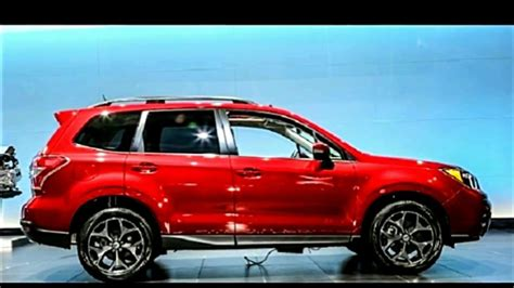 subaru forester red 2018 2018 subaru forester xt exterior and interior first