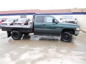 Dodge Flatbed For Sale 2001 Dodge Ram 3500 6spd 4x4 Flatbed Diesel 226 W