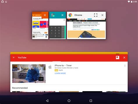 android desktop os android n s desktop os style window mode revealed