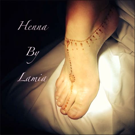 henna tattoos ankle simple henna anklet