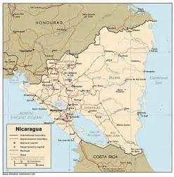 south america map nicaragua nicaragua