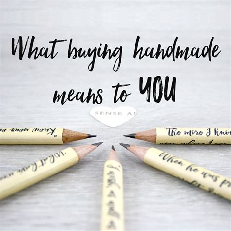 Handmade Means - what buying handmade means to you a guide to shopping