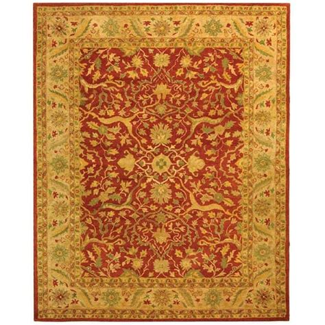 6 X 10 Area Rugs Safavieh Antiquity Rust 9 Ft 6 In X 13 Ft 6 In Area Rug At14c 10 The Home Depot