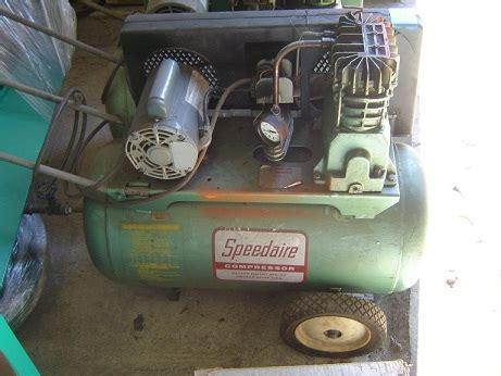 speedair zb air compressor manual   owners manual