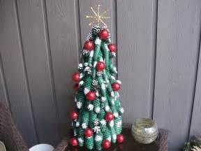 Pinecone craft pine cone tree christmas tree crafting crafts