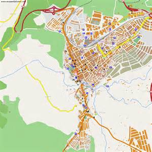 Ronda Spain Map by City Maps Ronda