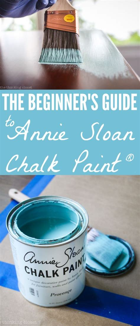 chalk paint for beginners the beginners guide to using sloan chalk paint wax