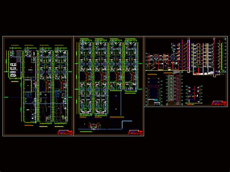 Executive Hotel 2D DWG Design Plan for AutoCAD ? Designs CAD