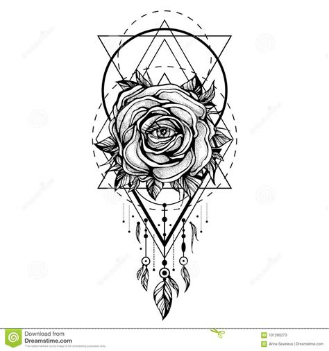 the rose tattoo character analysis chaplet illustrations vector stock images