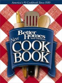 best cooker books better homes and gardens new cook book