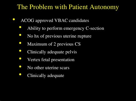 Vbac After 2 C Sections Acog by Birth After Cesarean