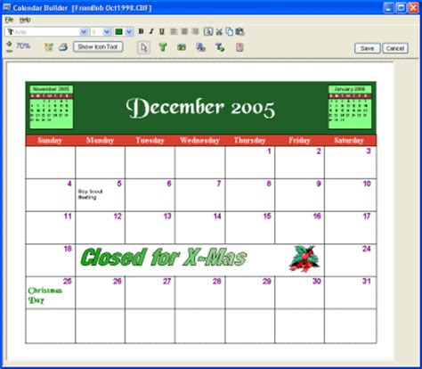 free personalized calendar software my calendar maker design and print your own free