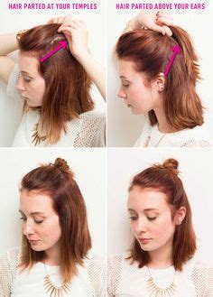can sholder bobs made into ponytails 1000 ideas about cut own hair on pinterest diy haircut