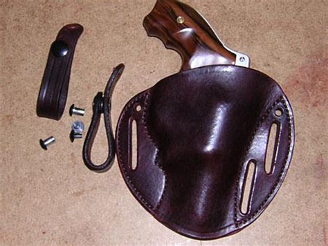 simply rugged silver dollar pancake silver dollar pancake leather concealed carry holster