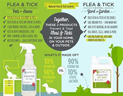 backyard flea control wondercide natural flea tick control concentrate for yard garden 16 oz price