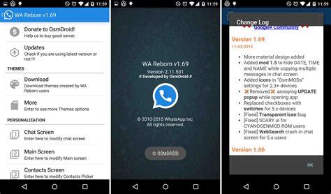 best themes for whatsapp reborn whatsapp reborn new version of whatsapp plus think