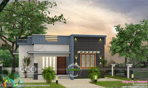 2925 square feet flat roof home kerala home design and low budget flat roof 2 bedroom house 700 sq ft kerala