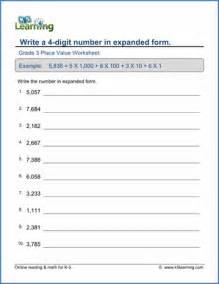 grade 3 place value amp rounding worksheets free