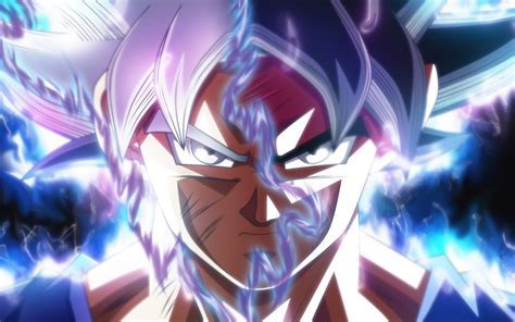 Wallpaper Goku, Ultra Instinct, Dragon Ball Super, 5K