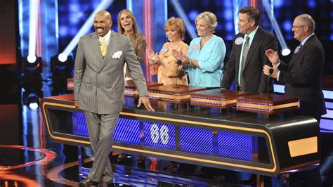 celebrity game shows on tv celebrity family feud 100 000 pyramid renewed by abc