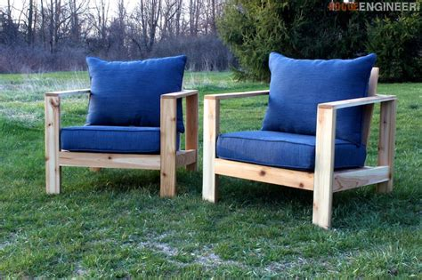 diy outdoor couch plans outdoor arm chair 187 rogue engineer