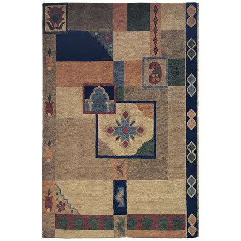 stickley mondrian rug arts and crafts movement