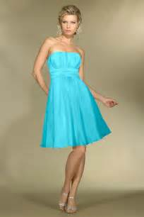 strapless blue bridesmaid dresses cherry marry