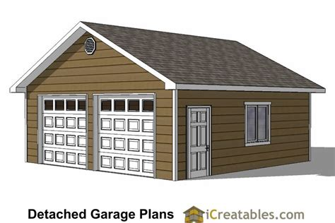 two door garage 24x24 garage plans 2 car garage plans 2 doors