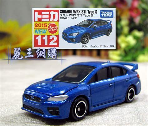 Terbaru Tomica 112 Subaru Wrx Sti Type S Blue Diecast Mobil tomica toyota subaru wrx sti type s tomica小汽車系列商品