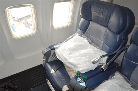 Comfort Seats Delta by Delta Businesselite Flight 1940 San Francisco To New York