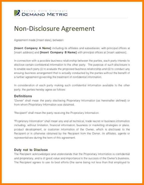 28 disclosure letter template basic disclosures