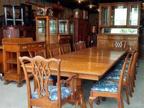 dining room sets north carolina bargain john s antiques 187 blog archive antique victorian oak dining room set 15 pc set