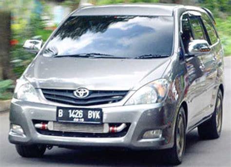 Modif Inofa by Modifikasi Toyota Kijang Innova A T 2010 Bos Pelek Punya Gaya