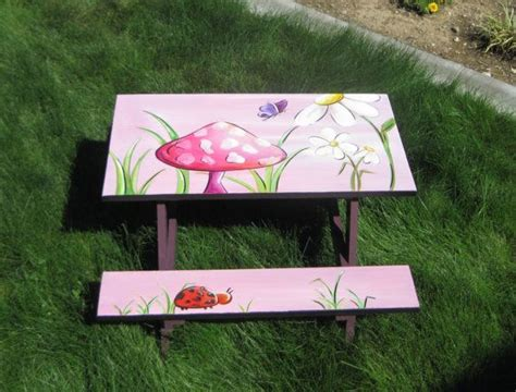 cool painted picnic tables pin by cathy parslow robinson on painted picnic