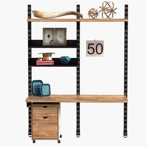 Modular Wall Storage Furniture by Design Workshop Modular Wall Storage System 3d Model Max