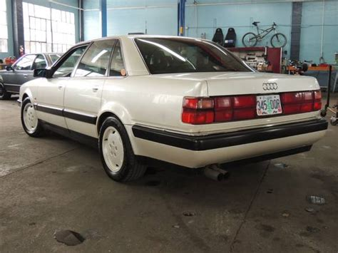 how cars engines work 1994 audi 90 parking system a v8 for every production year 1990 1994 audi v8 quattros german cars for sale blog