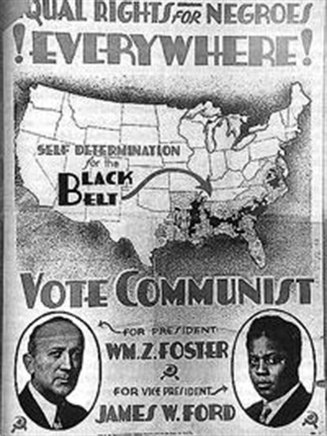 The Communist Party and Black Liberation in the 1930s