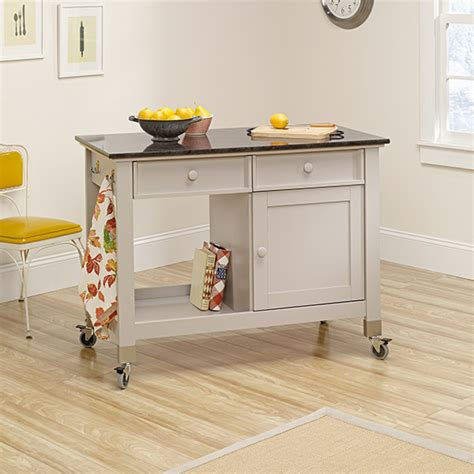 sauder cottage home collection sauder 414405 original cottage mobile kitchen island