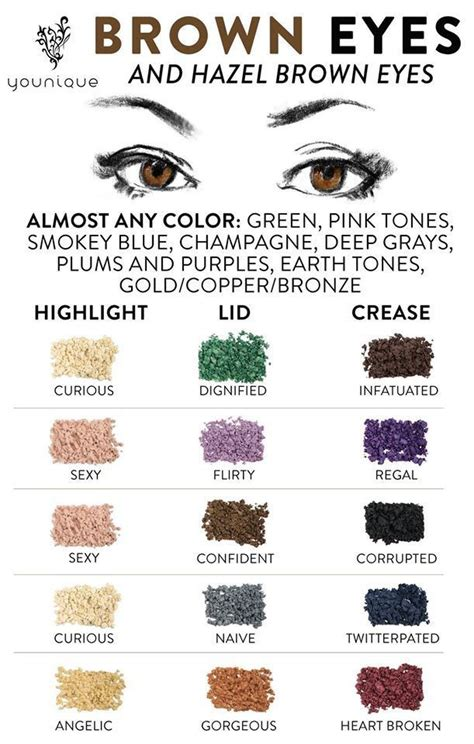 what colors make green pop best 25 brown pop ideas on eyeshadow for