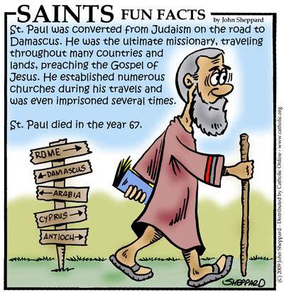 saints facts st paul saints catholic