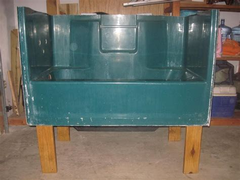 raised dog bathtub repurposed old bathtub dog grooming room pinterest