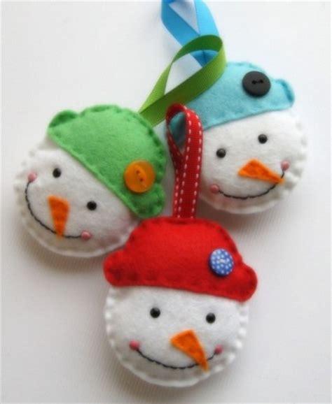 moldes de adornos fieltro para arbol decoraciones de fieltro para el 225 rbol navide 241 o