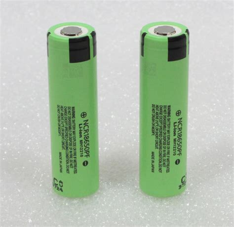 Panasonic 18650 Li Ion High Drain Hybrid Imr Battery 2900mah 36v With 2 x genuine panasonic ncr18650pf 2900mah high drain 10a imr hybrid batteries