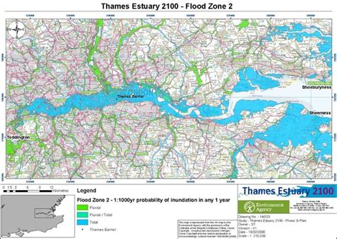 river thames flood plain map floodsite task introduction