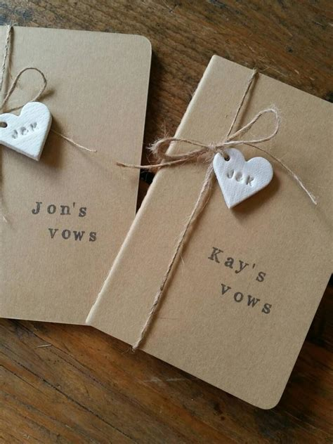 Wedding Car Vows by Set Of 2 Wedding Vows Notebooks His Hers Vows