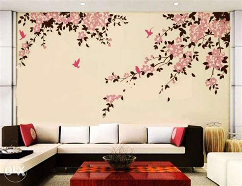 beautiful wallpaper design for home decor surprising beautiful wall painting designs 89 in home
