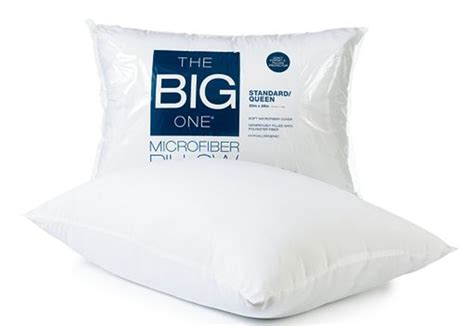 Pillow Coupons by Kohl S The Big One Microfiber Pillow Only 2 54 Reg 11 99