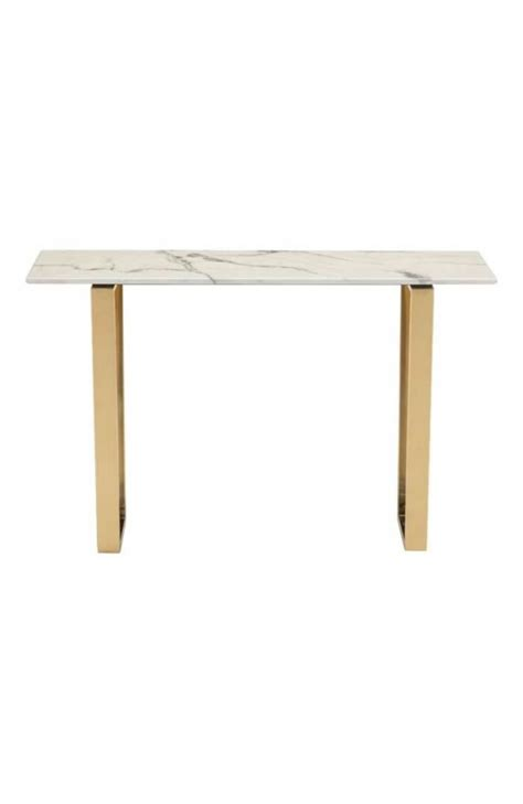 gold and marble console table white marble gold console table modern furniture