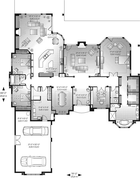 florida home floor plans san jacinto florida style home plan 032d 0666 house