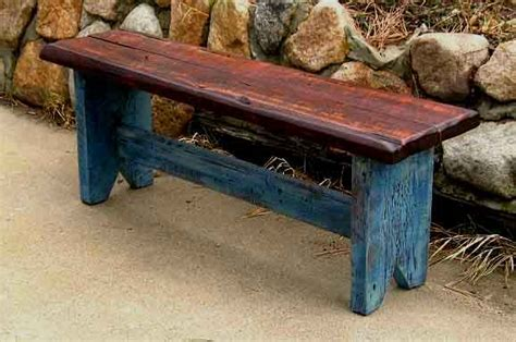 rustic wood bench plans simple rustic bench plans download wood plans